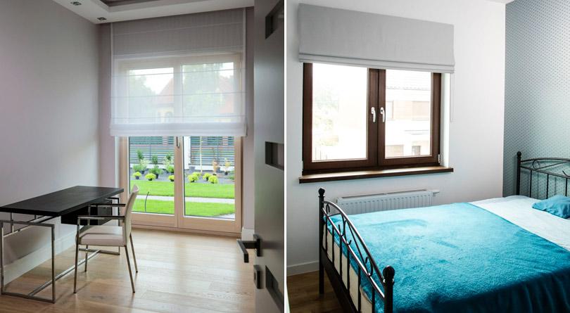 Rolety Rzymskie Dobry Pomysł Na Dekorację Okna