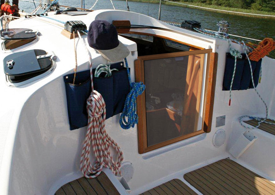 Insect screens for boats