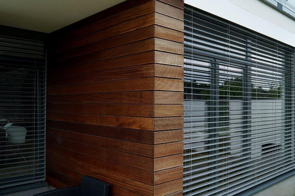 Żaluzje zewnętrzne - fasadowe