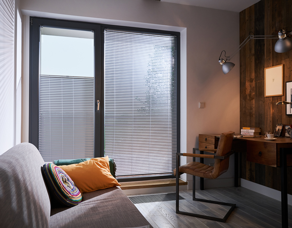 Aluminium blinds