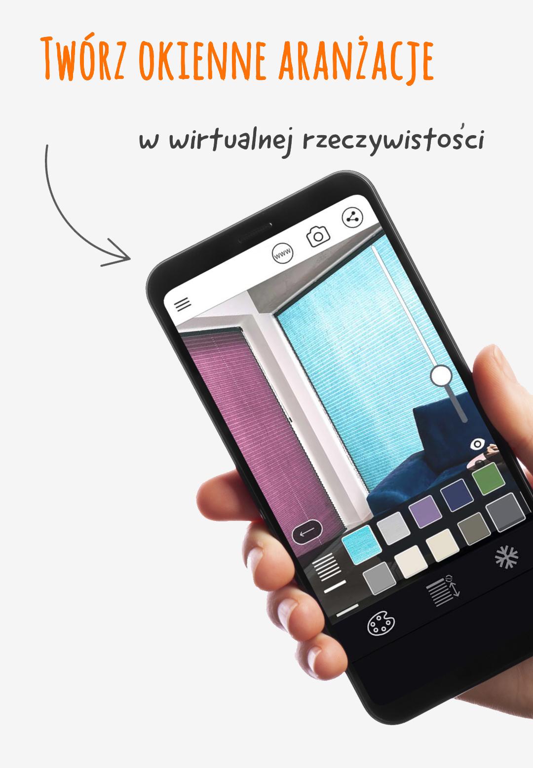 Nowoczesna aplikacja ar na smartfon.