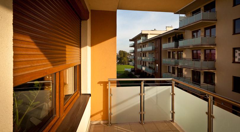Roleta fasadowa może być czyszczona przy użyciu wody i detergentu.